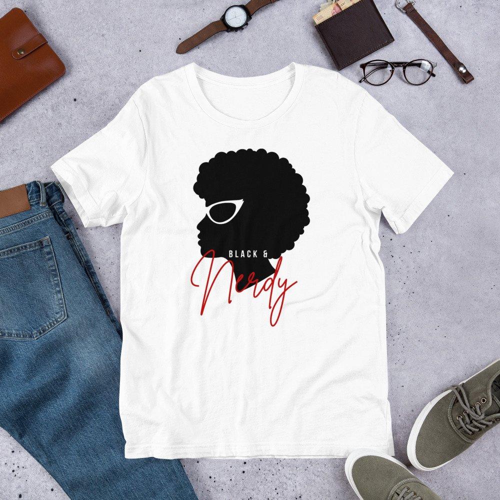 Black & Nerdy short sleeve shirt