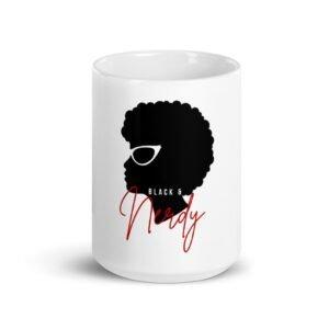 Black & Nerdy Mug 15oz