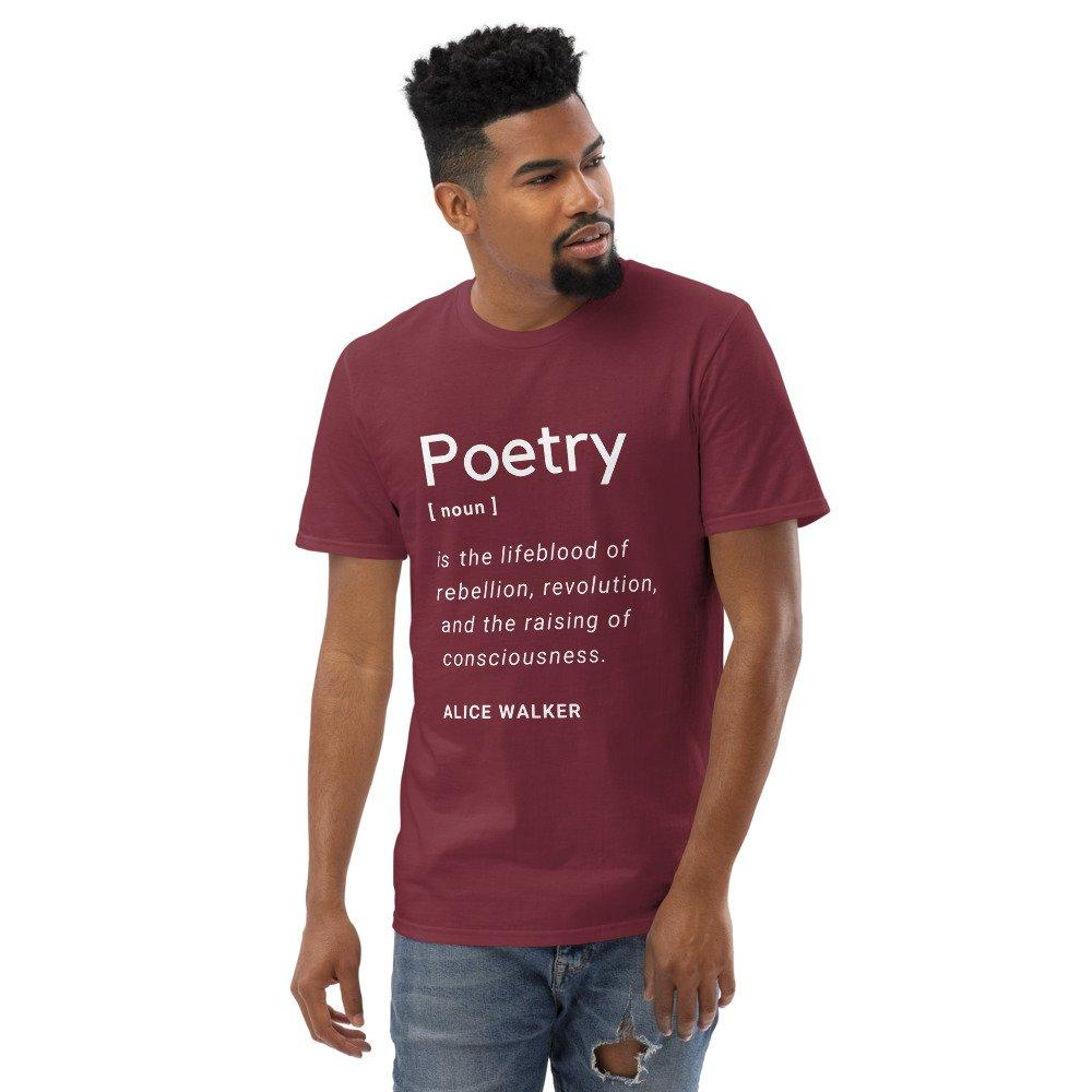 poetry men's shirt