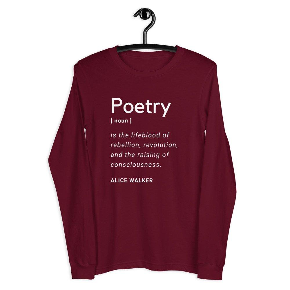 Poetry Women's Long Sleeve Shirt