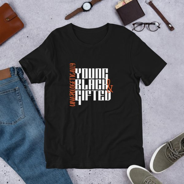 Unapologetically Young Black & Gifted T-shirt - black