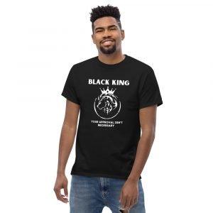 Black is King Shirt, Mens
